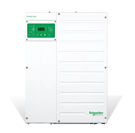 schneider electric solar l hybrid inverter system conext xw na se solar