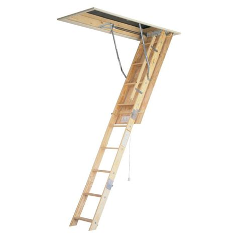 Ladders At Home Depot by Werner 8 Ft 10 Ft 22 5 In X 54 In Wood Universal
