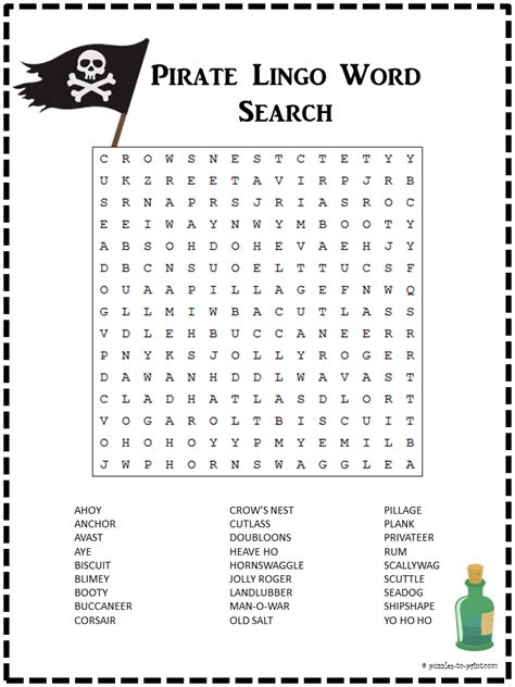 seniors puzzle book word fill in specially designed for adults volume 1 books pirate word search