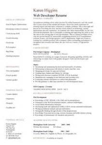 Web developer resume 2 web developer cover letter 1
