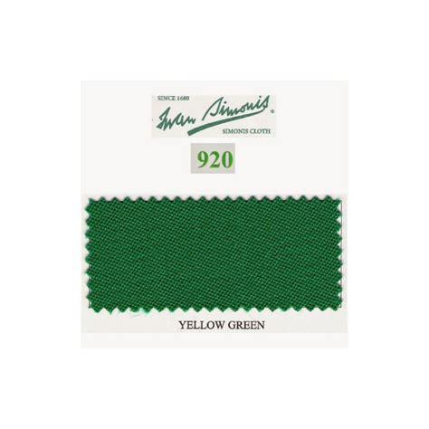 Tapis Billard Simonis by Kit Tapis Simonis 920 7ft Yellow Green Jeux Bmv