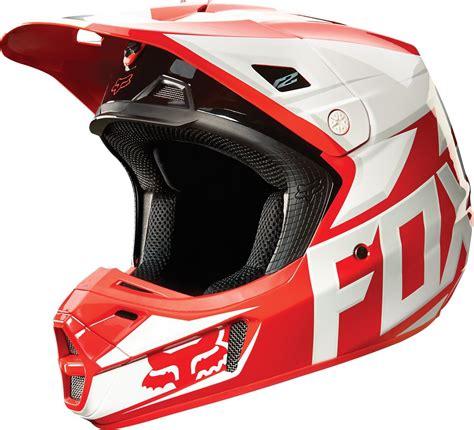 fox helmet 190 68 fox racing v2 race mx helmet 199172
