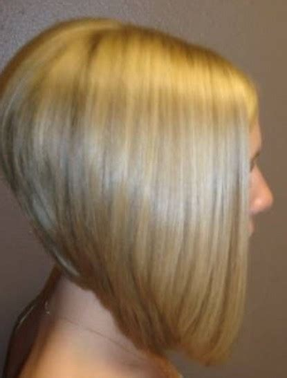 angled stacked bob haircut photos side view of severe angled stacked bob hairstyle trendy