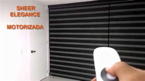 cortinas motorizadas persianas motorizadas sheer elegance youtube