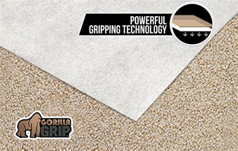 2x3 rug pad the original gorilla grip tm non slip area rug pad for carpet made in usa available in 2x3