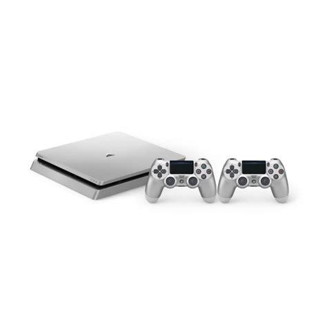 Ps4 Slim 500 Gb Plus Tv Led Dan Stik playstation 4 slim 500gb silver 2 dualshock tecbstore