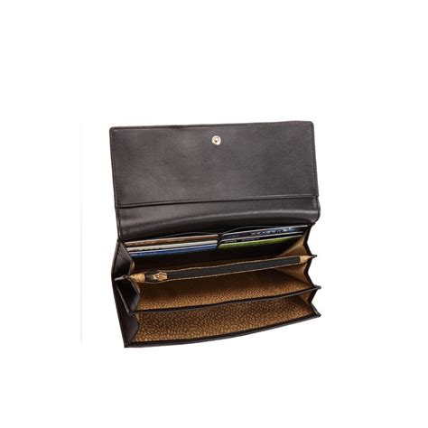 Cowhide Wallet - genuine cowhide leather wallet black 65114