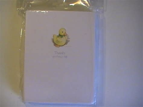 Carlton Cards Gifts - carlton cards thanks for baby s gift note cards