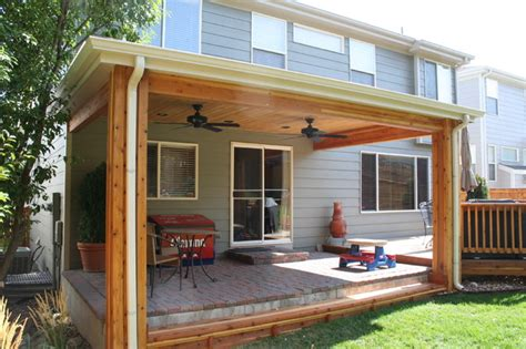 Patio Covers Denver by Patio Cover Traditional Porch Denver By