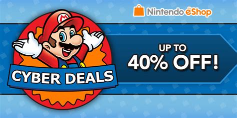 nintendo 3ds console deals nintendo eshop sale nintendo eshop cyber deals news
