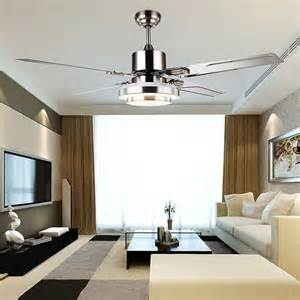 Living Room Ceiling Fans Fashion Ceiling Fan Lights Retro Style Fan Ls Bedroom