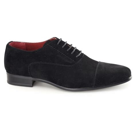 mens black suede oxford shoes rossellini mario faux suede leather oxford shoes shuperb