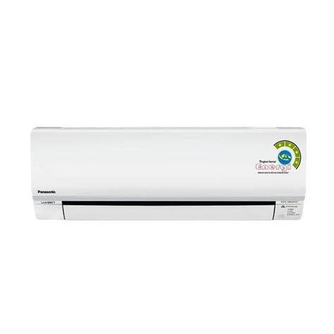 Ac Panasonic Setengah Pk Low Watt jual panasonic cs kn5skj ac split putih 1 2 pk low watt