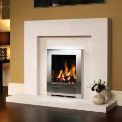 Home be modern be modern porto 45 quot natural limestone fireplace