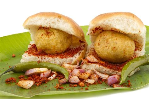 pav vada vada pav indian veggie burger recipe
