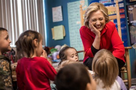 just not those kids in red states hillary clinton s daughters make you more likely to vote hillary the cut