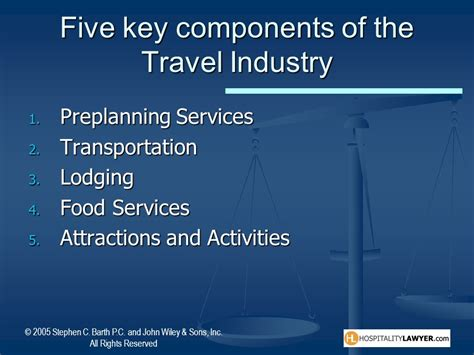 responsibilities in travel and tourism ppt