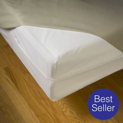Mattress Cover For Allergies by Bedcare All Cotton Allergy Prevention Mattress Covers