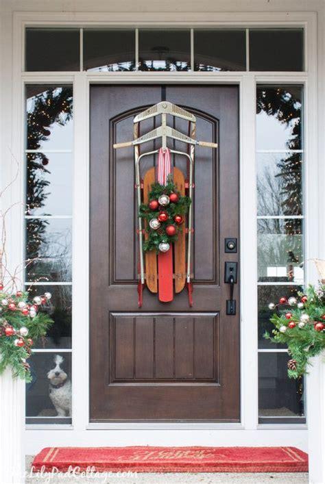 unique holiday door decor 6 unique ways to decorate your front door for