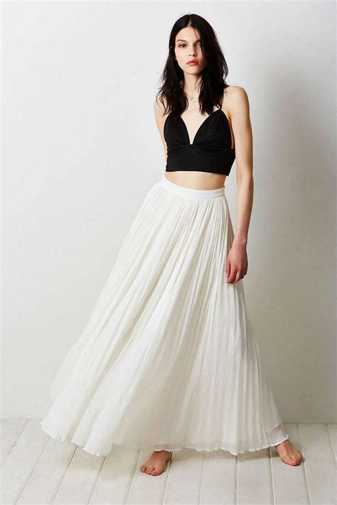 17 best ideas about pleated maxi skirts on style fashion casual dressy and summer