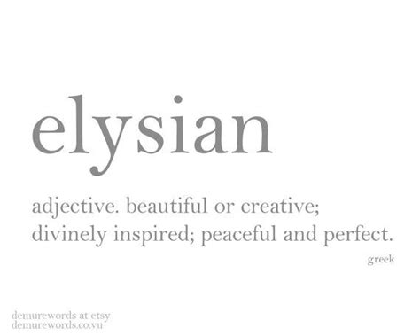 beautiful meaning elysian a greek word meaning beautiful or creative