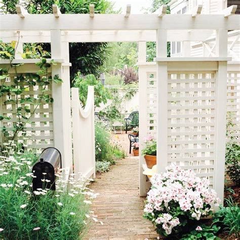 trellis design ideas trellises with fences or screens arbors trellis and front entry