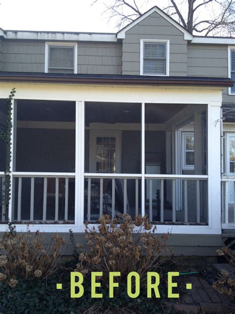 Before and After: Porch to Mudroom and Laundry Room   Get