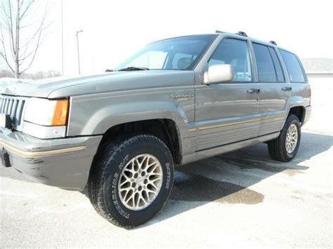 1995 Jeep Grand Limited Buy Used 1995 Jeep Grand Limited Sport Utility 4