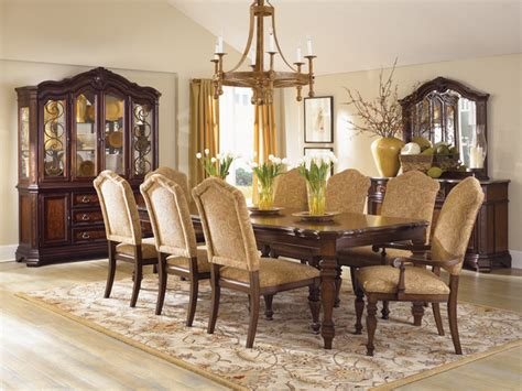 Classic Dining Room Furniture Comfortable Dining Chairs Encourage Seconds Traditional Dining Room