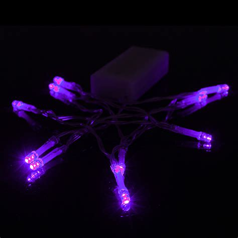 buy 1m 10 led battery powered christmas wedding party