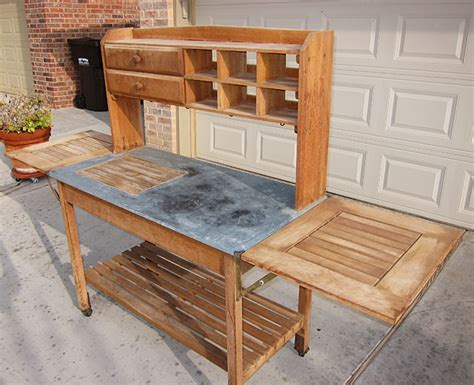 outdoor buffet table looking for a potting table well