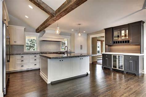 backsplash for black granite countertops and white cabinets black and white kitchen with black and white granite