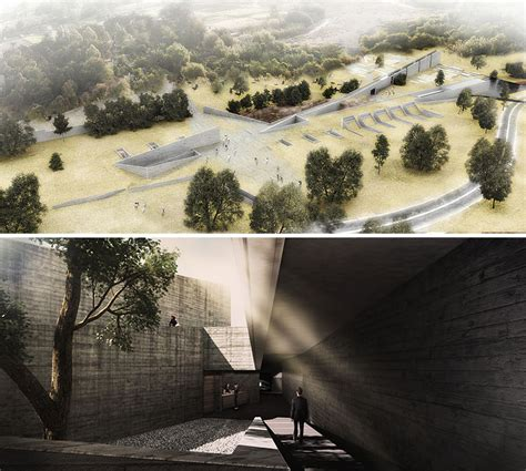 Designboom Underground | bosques underground funeral parlor designboom com