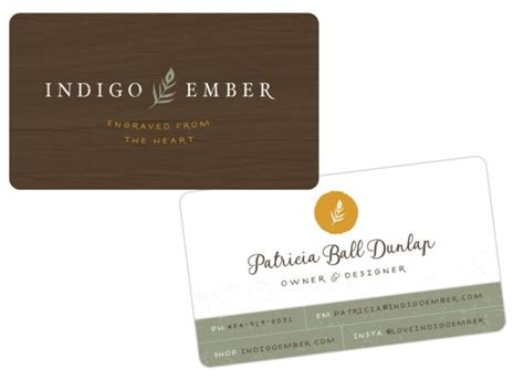 ember card template 189 best creative business cards images on
