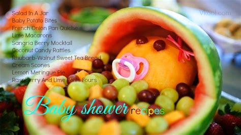 Recipes For Baby Shower by Easy Baby Shower Recipes 32 Best Ideas