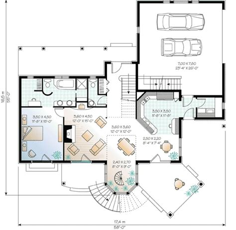 atrium home plans vertical two story atrium 21001dr 1st floor master