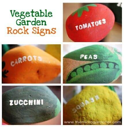 20 Creative Diy Plant Labels Markers The Micro Gardener Vegetable Garden Labels
