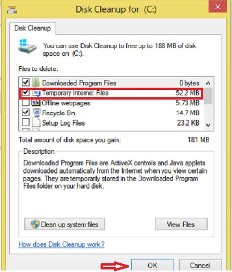 8 Steps To A Clean Up by Delete Temporary Files Using Disk Cleanup Utility In Windows