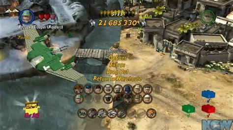 tutorial lego indiana jones 2 lego indiana jones 2 raiders of the lost ark races