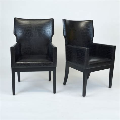 Christian Liaigre Armchair by Christian Liaigre Quot Barbuda Quot Arm Dining Chairs With Liaigre