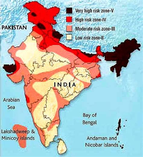 earthquake zone 2 chapter 2 1 3 seismic zones of india steady point