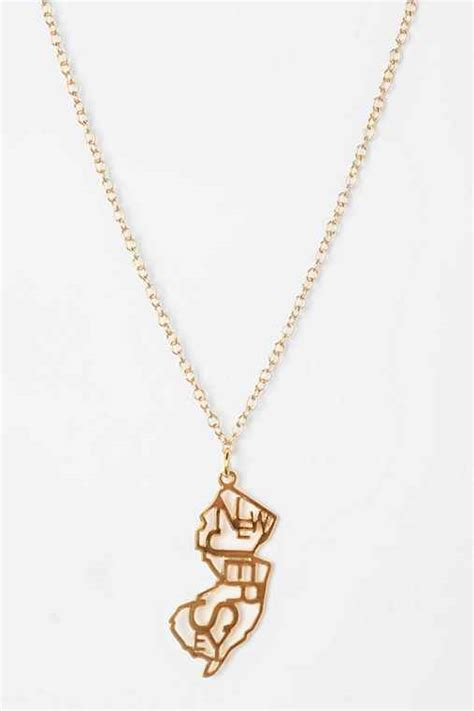 Horseshoe charm necklace with kris nations 17812810815 kris nations state charm necklace outfitters aloadofball Images