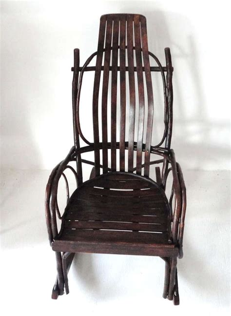 amish child s bentwood rocking chair for sale at 1stdibs