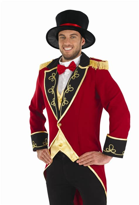 mens ringmaster costume mens ringmaster costume for circus fancy dress adults male