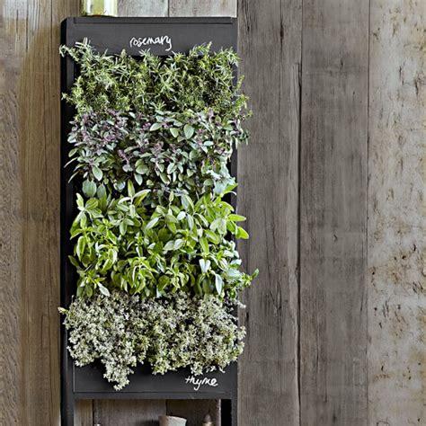 Freestanding Vertical Planter by Free Standing Vertical Chalkboard Garden Williams Sonoma