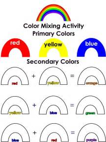 color for preschoolers best 25 secondary color ideas on