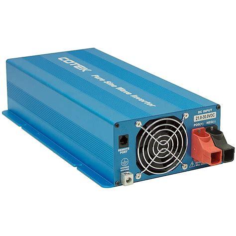 1500 Watt Power Inverter 24 vdc 1500 watt cotek power inverter inverters power