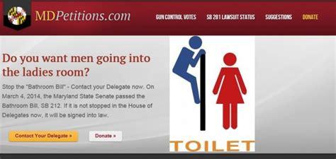 maryland bathroom bill bathroom battlegrounds and penis panics contexts