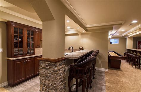 Small Basement Finishing Ideas Fascinating Basement Remodeling Ideas For Small Spaces