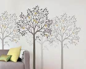 free tree stencil patterns large tree stencil wall